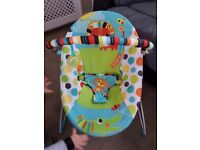 Baby chair/bouncer perfect condition