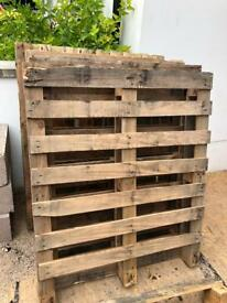 Wooden Pallets (free)