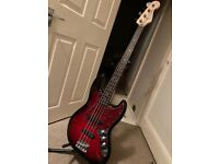Fender Squire Jazz Bass Ltd edition