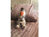 Frozen Olaf plush toy (original Disney)