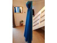 Teal Bridesmaid Dress - Altered but Unworn