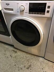 **SUPER SALE** New Graded Bush 8kg Condenser Dryer - White