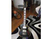 Esp ltd ec256 Aged Vintage Black. Used guitar