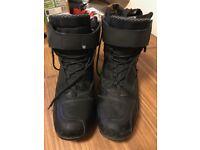 Merlin Street Motorcycle Boots Size 9 (UK)