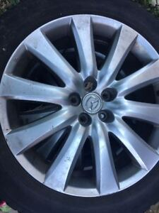 Summer Tires + Mags 20 inch Mazda 245/50/R20
