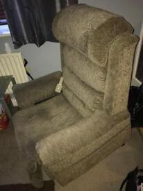 Electric recliner chair in good used condition