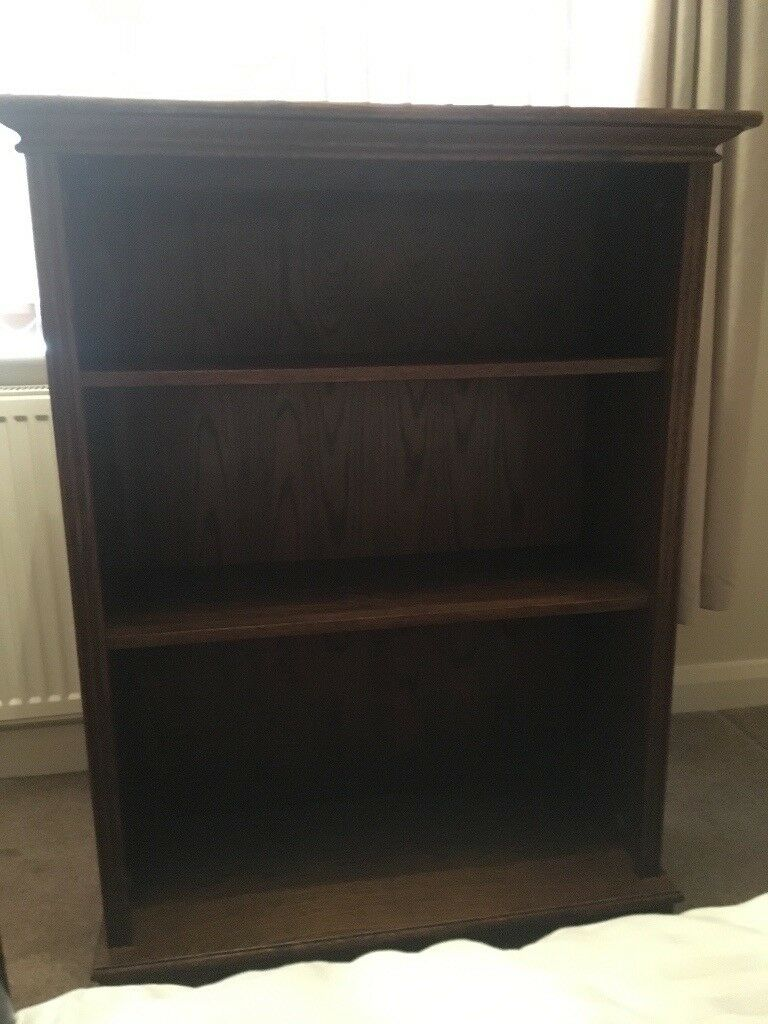 Dark Wood Bookshelf Excellent Condition