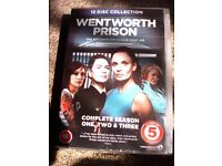 WENTWORTH PRISON SEASON 1-3 DVD BOX SET NEW
