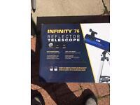 Meade infinity 76 Reflector Telescope