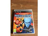 Megamind ultimate showdown PlayStation 3 game