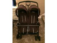 Graco side by side double pushchair buggy
