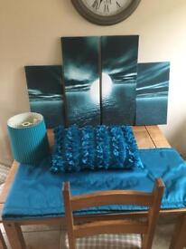 Teal bedroom bundle
