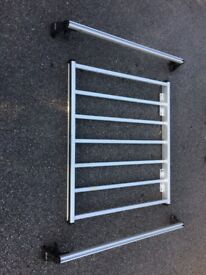 Rood bars and carrier basket for Mercedes 190
