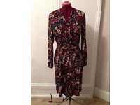 Floral Patterned Dress size 8