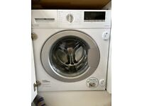 Lamona Integrated 8Kg 1400rpm White Washing Machine