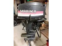 Mariner 40hp outboard.