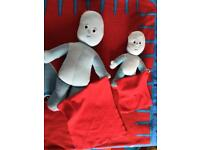 Igglepiggle cuddly toys and blanket