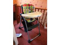 Chicco Highchair- Happy Snack