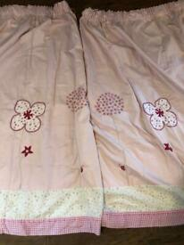 Girls curtains from Next