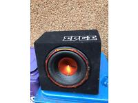 Sub woofer with built in amp