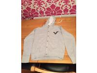 Grey voi hooded jacket small