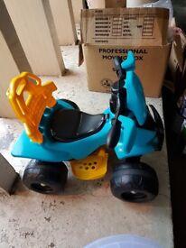 Injusa kids quad bike
