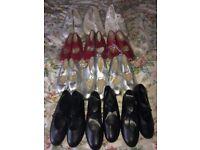 Joblot tap shoes