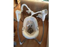 Graco swing chair - hardly used