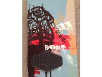 Morrow Radium 59 159 cm Snowboard + Stomp Pad - Great Condition - Not Burton / Bataleon
