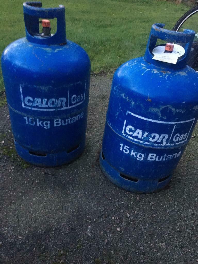 Two full 15kg calor gas bottles   in Sandbach, Cheshire ...