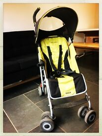 Maclaren Quest stroller in black/lime
