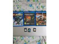 Ps vita games swap or sale - ps3 ps4