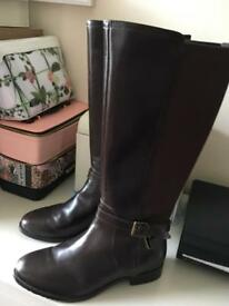 "Real leather size 5.5"" boots from hotter"