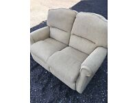 2 Seater Beige Sofa. Lovely Condition. Can Deliver.