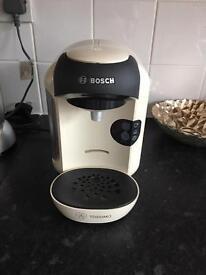 Bosh tassimo Vivy coffee machine cream
