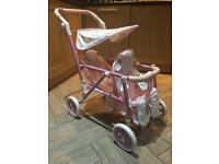 Children's Baby Annabelle Double Pushchair