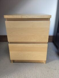 Wood bedside cabinet/table