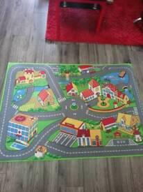 KIDS ROAD PLAY MAT
