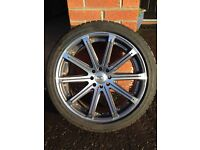 "18"" Audi Ford VW 4x108 4x100 wheels alloys ( BK Racing )"