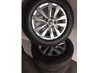 Vw t5/6 high line genuine alloys 215/65/16 £850 ono