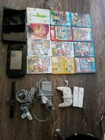 Wii u and 12 games