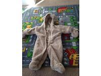 0-3 month snow suit