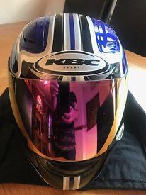KBC MOTORCYCLE HELMET SIZE XXS VERY GOOD CONDITION