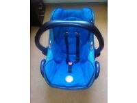 Maxi Cosi also Car seat (suits various prams including Quinny Buzz)