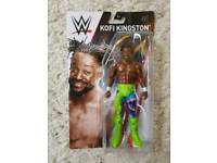 KOFI KINGSTON WWE WRESTLING FIGURE BRAND NEW IN BOX