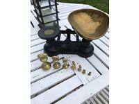 Kitchen brass old fashion scales
