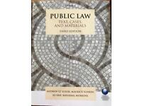 PUBLIC LAW TEXT,CASES AND MATERIALS