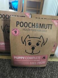 Pooch and mutt puppy food