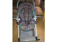Good solid Pushchair or Pram with footmuff