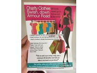 Charity swishing event - clothes wanted please
